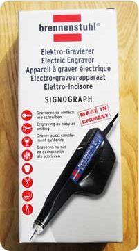"""Электрическая гравировальная машинка(виброгравёр-матовка)- (220В) """"Signograph-25"""",ударного типа по камню и металлу"""