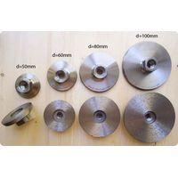 Алмазные шлифовальные диски с фланцем(цельноспечёные) d=50-60-80-100мм, Зернистость-#30(грубая)