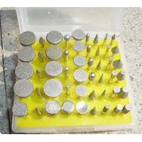 2. Набор алмазных гальванических шарошек-50 штук(шарики)