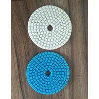 Алмазные гибкие шлифовальные круги(АГШК),для шлифовки гранита,мрамора,керамогранита,металла,стекла,пластмассы и т.д с водяным охлаждением. d=100 мм. Зернистость: #50-150-300-500-1000-2000-3000. Скидки на количество